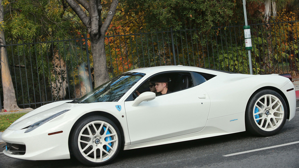 Justin Bieber Takes Selena Back To His Place