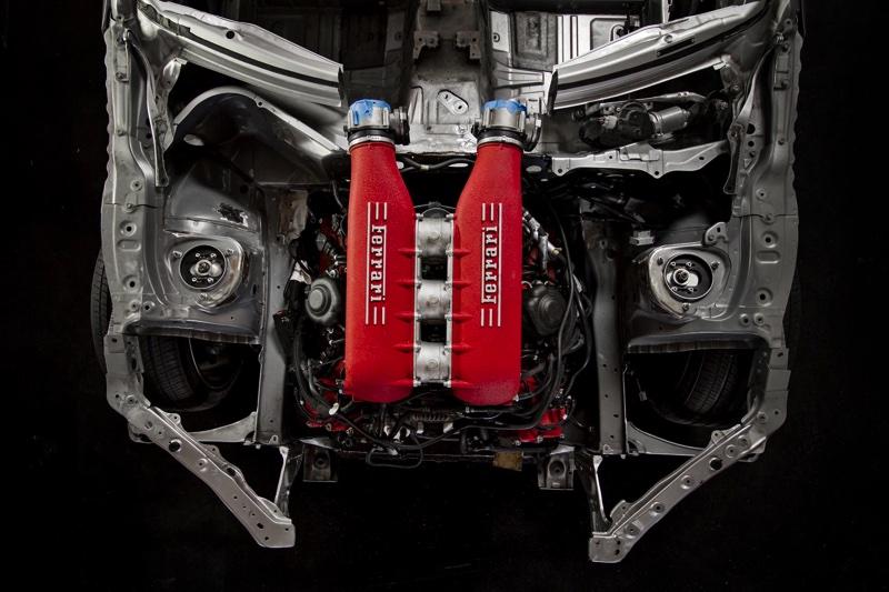 86にフェラーリ458のエンジンを搭載!その名は「Gumout 4586 ...